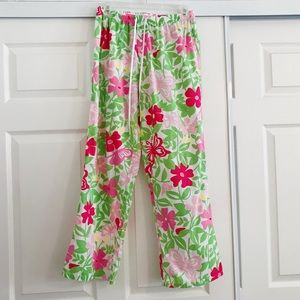 Lily Pulitzer Butterfly Print Pajamas - Small